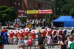 """""""Folklor i biesiada"""", 6.07.2013 r., Plac Jana Pawła II"""