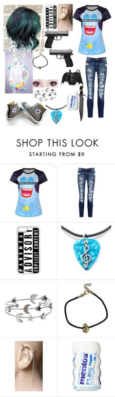"""""""oc #32"""" by jarofnerds ❤ liked on Polyvore featuring Current/Elliott, Converse, CellPowerCases, CO and Disney"""