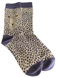 Ladies pale green and grey coloured socks with a Leopard print.  £7.95 with FREE UK Delivery.  Excellent quality, soft and stretchy bamboo / cotton blend fabric ( 54% Bamboo, 22% Cotton, 16% Polyester, 6% Nylon, 2% Elastane )  One size ( Ladies UK Shoe size 4 - 7 ) Bamboo Socks, Cat Shoes, Colorful Socks, Free Uk, Zebra Print, Green And Grey, Delivery, Lady, Fabric