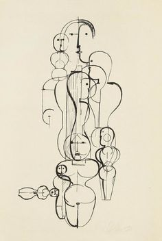 Oskar Schlemmer, one of my favorites, been to his studio in germany, unforgettable