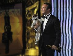 Oscars 2012: Uggie attends the show after all - Celebritology 2.0 - The Washington Post