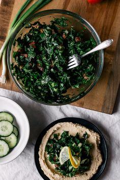 Hummus & Tabbouleh + Saturday Links | Faring Well | #vegan #recipe