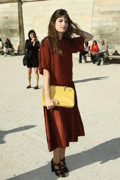 PFW #streetstyle #fashion