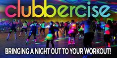 Clubbercise - I am so psyched that this is a real thing!!  Please come to Dallas!!