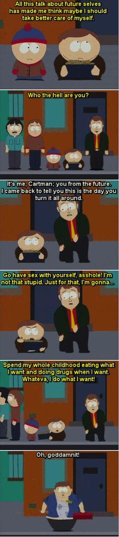 South Park Cartman future self