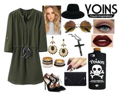 """Fallin' Up"" by hisangelforever ❤ liked on Polyvore featuring Forever 21, Valfré, Smashbox, Maison Michel and Trend Cool"