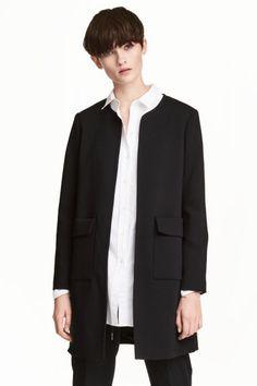 Short coat - Black - Ladies | H&M GB 1