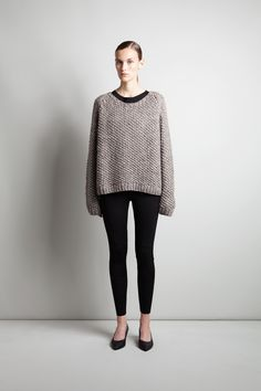 Zelda knit sweater | Weekday
