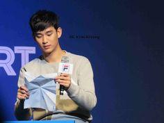 awesome [Fan Photos] Fantastic Kim Soo Hyun at FILA Talk Concert 01.12.2015