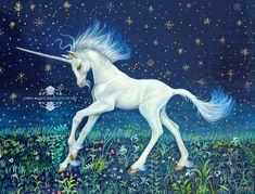 Unicorn Foal Art Acrylic Painting on Wood Box by Mocten on DeviantArt Acrylic Paint On Wood, Painting On Wood, Medieval Tapestry, Unicorns And Mermaids, Fairytale Art, Framed Prints, Art Prints, Mermaid Art, My Drawings