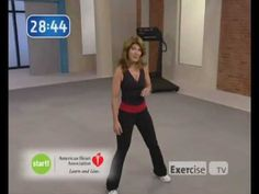 Exercise TV. Walk away the pounds with Leslie