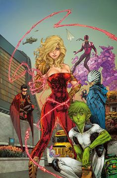 Big news yesterday as we announced the relaunch of TEEN TITANS with an all-new #1 this July from an all-new creative team.