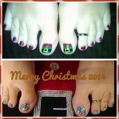 Christmas toes 2014