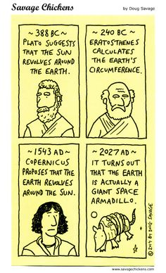 Savage Chickens - Great Moments in Earth History