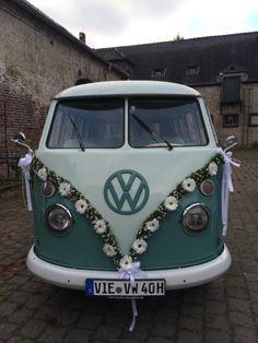Suchen Sie für Ihren schönsten Tag einen VW Bulli inkl. Chauffeur ? Dann sind Sie bei mir genau...,VW Bus T1 Bulli Hochzeitsauto Brautauto Oldtimer in Viersen - Viersen