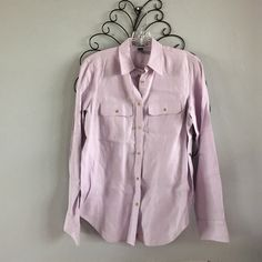 Ralph Lauren Light Purple Collared Button-Down NWOT. Never worn, just tried on. Perfect condition, no flaws. Let me know if you have any questions!! Make me an offer!! Ralph Lauren Tops Button Down Shirts