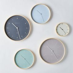 Wall Clock Design 367606388336550773 - Modern Scandi Wall Clock on Source by mmeggg Home Decor Accessories, Decorative Accessories, Minimalist Wall Clocks, Wall Clock Design, Clock Wall, Wall Clock Bedroom, Wall Clock Wooden, Collage Des Photos, Wooden Trim