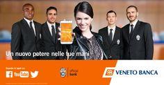 Veneto Banca supporta la #Juventus verso #UCLFinal con il nuovo video #BankUpMobile #ad