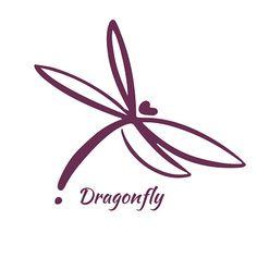 Illustration of Dragonfly Logo Design Template. Vector illustration vector art, clipart and stock vectors. Dragonfly Logo, Dragonfly Drawing, Small Dragonfly Tattoo, Tattoo Designs, Henna Designs, Tattoo Ideas, Dragonfly Illustration, Muster Tattoos, Logo Design Template