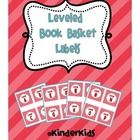 Leveled Book Labels for Book Baskets  { FREEBIE }