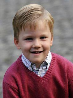 Prince Gabriel of Belgium's (parents Prince Philippe & Princess Mathilde the Duke/Duchess of Brabant)