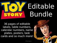 Browse over 10 educational resources created by TeachingLove in the official Teachers Pay Teachers store. Calendario Editable, Toy Story Decorations, Movie Crafts, Calendar Numbers, Classroom Themes, Task Cards, Classroom Management, Pixar, Kindergarten