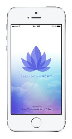 Calm Down Now, an empowering mobile app for overcoming anxiety. For iOS: http://cal.ms/1mtzooS For Android: http://cal.ms/NaXUeo