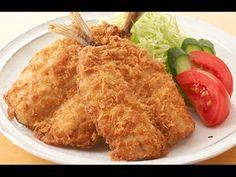 Aji fulai (Horse mackerel deep-fried in breadcrumbs)