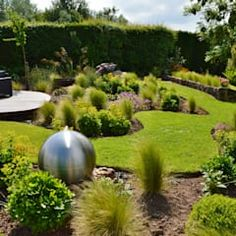 gartengestaltung reihenhaus beispiel 2 | Garten | Pinterest ...