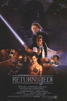 Star Wars:Episode VI- Return of the Jedi (1983) After rescuing Han Solo from the palace of Jabba the Hutt, the rebels attempt to destroy the second Death Star, while Luke struggles to make Vader return from the dark side of the Force.