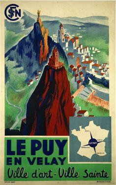 Le Puy en Velay - France -  1939 -