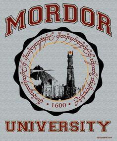 Shirt - Mordor University