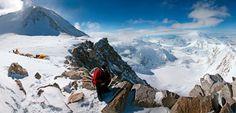 Mount McKinley in Denali, Alaska. Photograph by Johnathan Ampersand Esper, Aurora