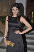 kajal in black dress..