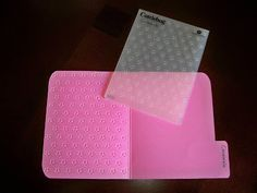 Embossing folder storage idea--- Lena's Creations: Storage Share - Embossing Folders