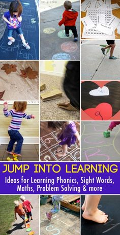 Jump into learning: active learning ideas for alphabet knowledge, phonics and sight words