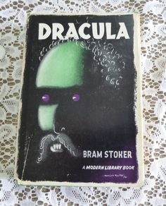 Dracula Bram Stoker Classic Vampire Story Modern by naturegirl22, $28.95