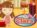 Clara Kuaförde çocuk oyunu, Clara Kuaförde barbie oyunları, Clara Kuaförde kız oyunu