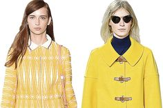 trends from #nyfw S/S 2014 via WSJ