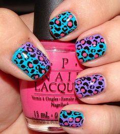 20 Cool Nail Polish Ideas - Splatter Nails