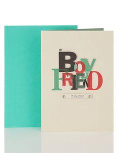 Amazing Boyfriend Birthday Card