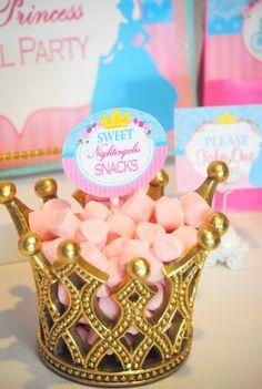 PRINCESS Party - Blue Princess Birthday Party - BURSTS