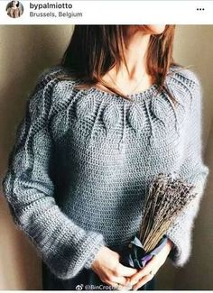 Fabulous Crochet a Little Black Crochet Dress Ideas. Georgeous Crochet a Little Black Crochet Dress Ideas. Gilet Crochet, Crochet Jacket, Crochet Cardigan, Knit Crochet, Black Crochet Dress, Crochet Shoes, Crochet Clothes, Crochet Patterns For Beginners, Crochet Blanket Patterns