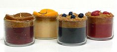 fruit scented parfait candles from Keystone Candle