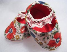 Chic floral baby shoes, $32