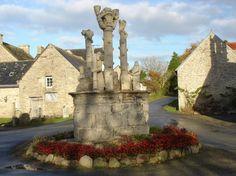 Calvaire Bonigeard - Meslan - Pays roi Morvan - Morbihan Bretagne Sud