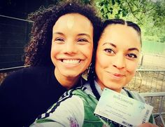 """Candice and Rhea Bailey """" Excited to see big sis ❤️🎉🌺 .(Sunday afternoon in the park)"""" Corinne Bailey Rae, London Summer, Big Sis, Stevie Wonder, Hyde Park, Sisters, Sunday, Instagram Posts, Big Sisters"""
