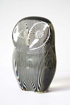 Vintage Lucite Owl by Abraham Palatnik 1970s on Etsy, $245.00