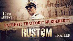 Rustom - Official Trailer | Akshay Kumar, Ileana D'Cruz, Esha Gupta & Arjan Bajwa | #2016release #cineresearch