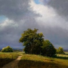 oil painting on panel - Spring Storm by renato muccillo Landscape Art, Landscape Paintings, Canada Landscape, Theme Nature, Traditional Landscape, Pastel Art, Oeuvre D'art, Painting Inspiration, Lovers Art